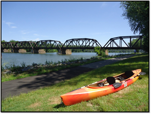 Kayak River Bridge